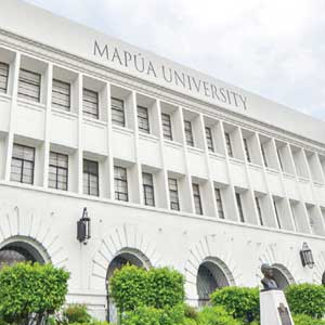 Campus building at Mapúa University.