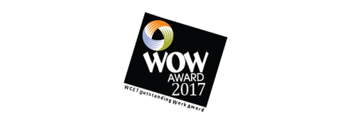 WCET Outstanding Work Award 2017 logo