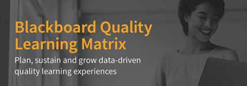 Blackboard Quality Learning Matrix