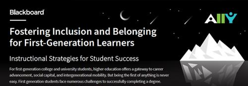 Fostering Inclusion and Belonging for First-Generation Learners