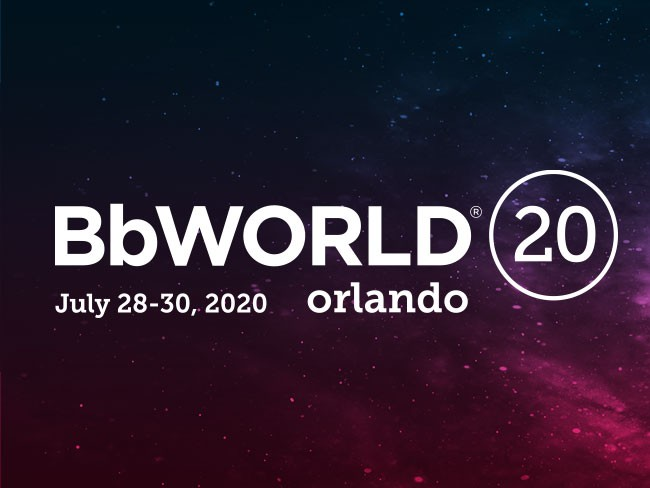 BbWorld July 28-30, 2020 Orlando