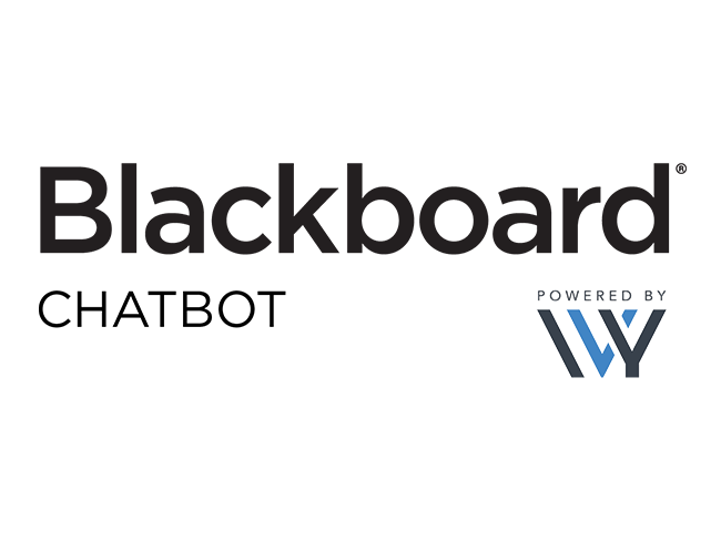 Blackboard Chatbot Powered by IVY