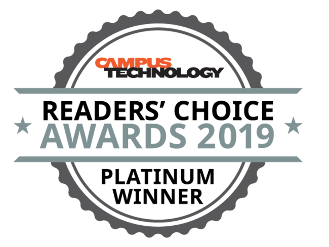 Readers Choice Awards 2019 - Platinum Winner