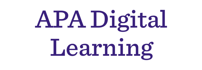 APA Digital Learning