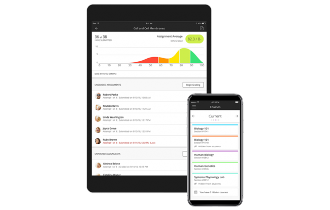 Blackboard Instructor App
