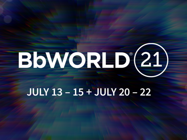 BbWorld 2021: July 13-15 & July 20-22
